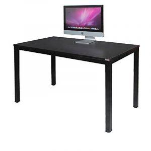 Need Bureau 120x60cm d'ordinateur Table Informatique Meuble de bureau pour Ordinateur pour salle à manger, salon, cuisine, Noir de la marque image 0 produit