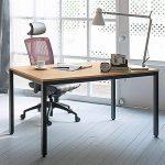 Need Bureau 120x60cm d'ordinateur Table Informatique Meuble de bureau pour Ordinateur pour salle à manger, salon, cuisine, Teck Chêne Couleur de la marque image 1 produit