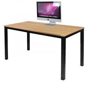 Need Bureau 120x60cm d'ordinateur Table Informatique Meuble de bureau pour Ordinateur pour salle à manger, salon, cuisine, Teck Chêne Couleur de la marque image 0 produit