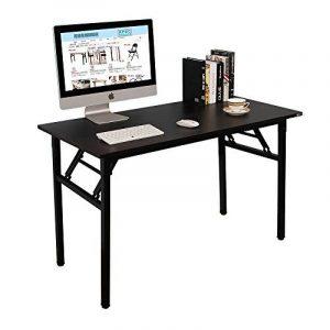 Need Bureau 120x60cm Table traiteur pliante Table Informatique Table buffet camping pliable Bureau de réception, Noir de la marque image 0 produit