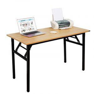 Need Bureau 120x60cm Table traiteur pliante Table Informatique Table buffet camping pliable Bureau de réception, Teck Chêne Couleur de la marque image 0 produit