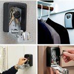 Nestling® Haute sécurité de la police Safe Key Murale à 4 chiffres clés Coffre haute sécurité Combination Lock stocker les clés de de la marque image 5 produit