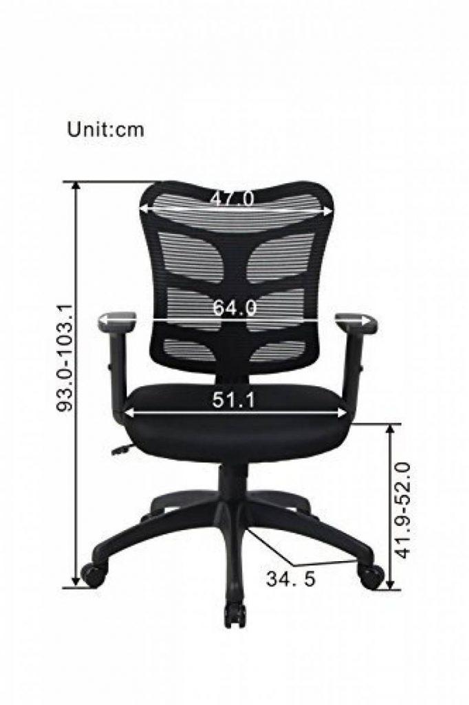 notre meilleur comparatif chaise de bureau confortable pour 2018 meubles de bureau. Black Bedroom Furniture Sets. Home Design Ideas