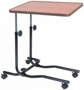 NRS Healthcare M15691 Table de Chevet / Chaise de Bureau Portative - Inclinable - Réglable et à Roues de la marque image 0 produit