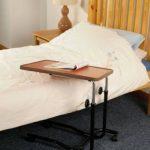 NRS Healthcare M15691 Table de Chevet / Chaise de Bureau Portative - Inclinable - Réglable et à Roues de la marque image 1 produit