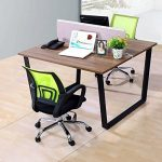 Ogima tapis de chaise pour sols durs–120x 90cm, matériaux non recyclés, protection de sol dur de la marque Greenmall image 1 produit