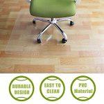 Ogima tapis de chaise pour sols durs–120x 90cm, matériaux non recyclés, protection de sol dur de la marque Greenmall image 5 produit