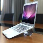 OMOTON Support PC Et Ordinateur Portable Pour Apple Macbook Air, Macbook 13/15 et Tous les Ordinateurs Portables, Support De Bureau En Alliage D'aluminium de la marque image 1 produit