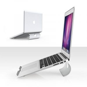 OMOTON Support PC Et Ordinateur Portable Pour Apple Macbook Air, Macbook 13/15 et Tous les Ordinateurs Portables, Support De Bureau En Alliage D'aluminium de la marque image 0 produit