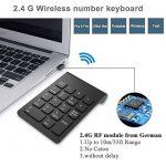 Pavé numérique Sans Fil 18touches clavier numérique avec 2.4G récepteur USB pour iMac/MacBook Windows pour ordinateur portable de bureau de la marque image 1 produit