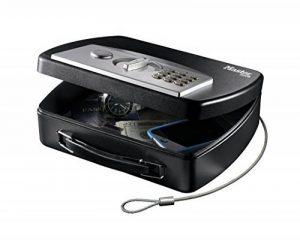 Petit coffre nomade à code électronique programmable - Câble d'attache en acier de la marque image 0 produit