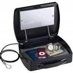 Petit coffre nomade à code électronique programmable - Câble d'attache en acier de la marque image 2 produit