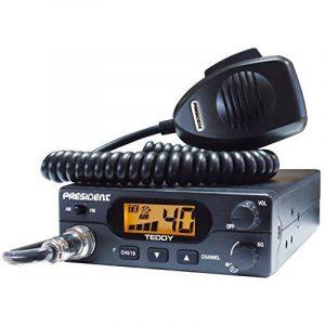 RADIO CB PRESIDENT TEDDY 40 CANAUX AM-FM + MICRO de la marque image 0 produit