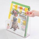 Rangement de fournitures de bureau mDesign pour dossiers, classeurs, magazines, Livres - Transparent de la marque image 4 produit
