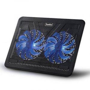 Refroidisseur de 17 Pouces pour Ordinateur Portable PC Notebook Laptop avec 2 Ventilateurs à LED Bleue de 160mm de la marque Vanble image 0 produit