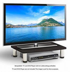 RICOO Table TV LED support téléviseur FS051B TV LED téléviseur meuble tele meuble hifi meuble TV Design table pour écran plat estrade TV plat support ecran PC surélévation du televiseur universel de la marque RICOO image 0 produit