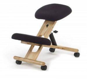 Siège ergonomique ergonomic chair noir , bois naturel de la marque Due-home image 0 produit
