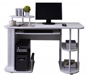 SixBros. Bureau Informatique - blanc - S-104/2081 de la marque image 0 produit