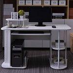 SixBros. Bureau Informatique - blanc - S-104/2081 de la marque image 1 produit