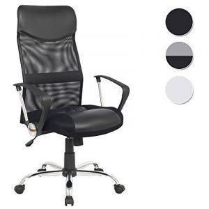 SixBros. Chaise de bureau pivotante noir - H-935-6/1319 de la marque image 0 produit