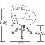 SixBros. Tabouret à roulettes tabouret de travail blanc - M-65335-1/725 de la marque image 2 produit