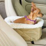 Snoozer Console pour animal domestique de siège de voiture Crème fourrure de la marque image 1 produit