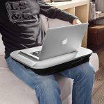 SoBuy® FBT28-Sil Support ergonomique pour Ordinateur portable jusqu'à 18.4 de la marque SoBuy image 1 produit