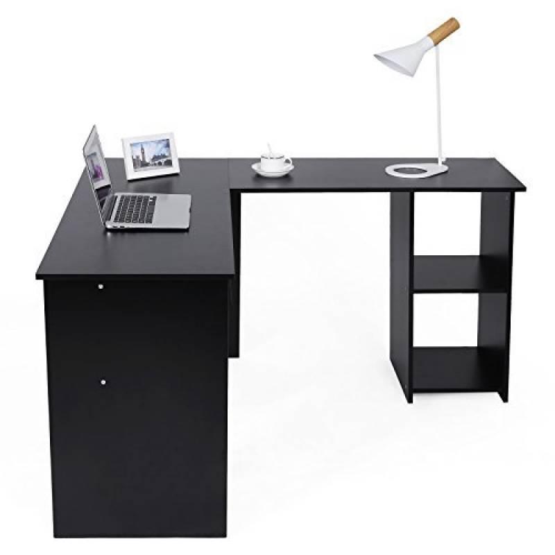 bureau d angle noir les meilleurs mod les pour 2019 meubles de bureau. Black Bedroom Furniture Sets. Home Design Ideas
