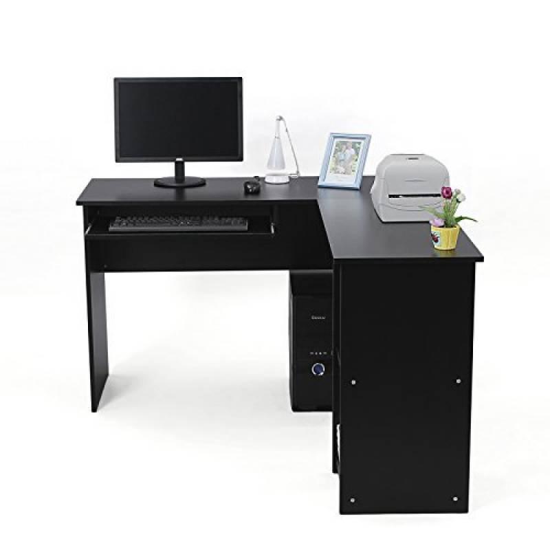 Bureau d angle noir les meilleurs mod les pour 2019 meubles de bureau - Meilleur marque d ordinateur de bureau ...