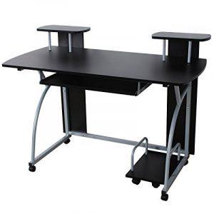 Songmics Bureau Informatique Table Informatique Meuble de Bureau pour Ordinateur 120 x 59 x 90 cm LCD812B de la marque image 0 produit
