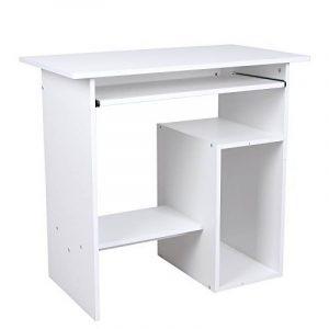 Songmics Bureau Informatique / Table Informatique Meuble de Bureau Pour Ordinateur blanc LCD852W de la marque image 0 produit