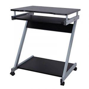 Songmics Bureau Informatique Table Informatique Meuble de Bureau Pour Ordinateur noir LCD811B de la marque image 0 produit