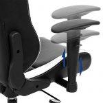 Songmics Chaise gamer Fauteuil de bureau Chaise pour ordinateur hauteur réglable noir + blanc RCG12W de la marque image 5 produit