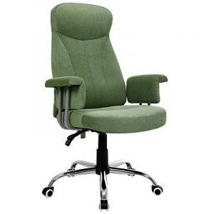 Songmics Fauteuil de bureau Chaise pour ordinateur siège de bureau OBG41L de la marque image 0 produit