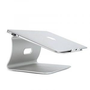 Spinido Support de radiateur pour ordinateur portable exquisite aluminium compatible avec Apple Macbook et tous les ordinateurs portables (Breveté) de la marque Spinido image 0 produit
