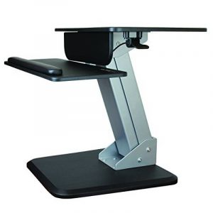 StarTech.com Poste de travail debout ergonomique - Bureau assis-debout avec hauteur réglable par ressort pneumatique de la marque image 0 produit