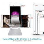 Support Téléphone, Lamicall Multi Position iPhone Dock : Support Dock pour iPhone 7 6 6s 6s plus 5s 5 4s, Nintendo Switch, HUAWEI, Samsung S3 S4 S5 S6 S7 S8, Bureau, Accessoires, Aluminium, D'autres Smartphones - Argenté de la marque image 5 produit