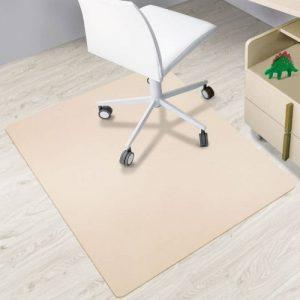 Tapis protège-sol casa pura® pour sols durs sans plastifiants / PVC | couleurs chaleureuses idéales pour la chambre d'enfant | 120x150cm - beige de la marque image 0 produit