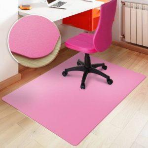 Tapis protège-sol casa pura® pour sols durs sans plastifiants / PVC | couleurs chaleureuses idéales pour la chambre d'enfant | 120x150cm - rose de la marque image 0 produit