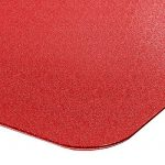 Tapis protège-sol casa pura® pour sols durs sans plastifiants / PVC | couleurs chaleureuses idéales pour la chambre d'enfant | 120x150cm - rouge de la marque image 3 produit