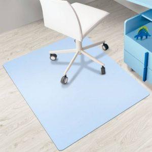 Tapis protège-sol casa pura® pour sols durs sans plastifiants / PVC | couleurs chaleureuses idéales pour la chambre d'enfant | 75x120cm - bleu clair de la marque image 0 produit