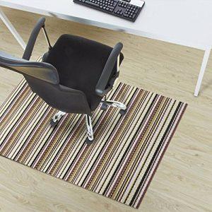 Tapis protège-sol design Office Marshal® Asti | 5 tailles disponibles | matériau résistant, antisalissure | tapis de sol pour appareils de fitness | 90x150cm de la marque image 0 produit