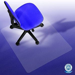 Tapis protège-sol etm® pour moquettes | PC transparent - antiglisse | qualitée testée TÜV / Blauer Engel | 90x110cm de la marque image 0 produit