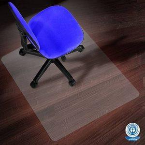 Tapis protège-sol etm® pour sols durs | PC transparent - antiglisse | qualitée testée TÜV / Blauer Engel | 90x110cm de la marque image 0 produit