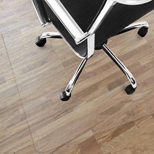 Tapis protège-sol Office Marshal® NEO pour parquets, stratifiés | 9 tailles | transparent en vinyle | épaisseur env. 1,5mm | 75x120cm de la marque image 0 produit