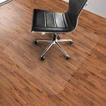 Tapis protège-sol Office Marshal® NEO pour parquets, stratifiés | 9 tailles | transparent en vinyle | épaisseur env. 1,5mm | 75x120cm de la marque image 3 produit