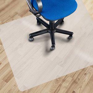 Tapis protège-sol Office Marshal® pour parquets et stratifiés en PP | antiglisse et semi-transparent | plusieurs tailles au choix - 120x120cm de la marque image 0 produit