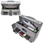 TecTake XL pilot case trolley valise mallette de pilote sac à roulettes poignée de la marque image 4 produit