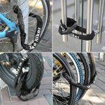 Terra Hiker Chaîne Antivol Vélo à Code, Cadenas Vélo à 5 Chiffres Longueur 1 m Pour Bicyclette Moto de la marque Terra Hiker image 6 produit