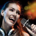 TONOR USB Microphone à Condensateur Professional Radio de Enregistrement Condensateur Micro Multimédia Audio Podcast Studio Video Trépied Support pour Ordinateur portable PC Noir de la marque image 6 produit